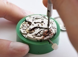 スイス機械式時計 分解・組立