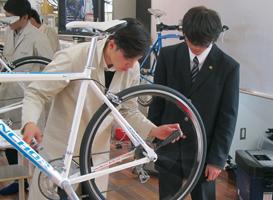 自転車メカニックコース体験入学