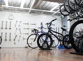 【来校】 自転車コース公開授業