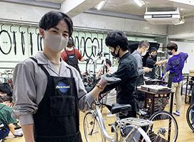 【来校】オープンDAY(自転車メカニックコース)